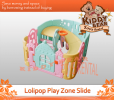Ibebe - Lolipop Slide & Play Zone Baby Room playzone