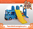 Tayo Slide & Swing Bus 4 in 1